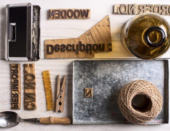 Buchstabenstempel: Schöne DIY-Ideen